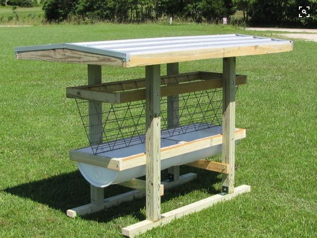 Our New Sheep Feeder What S Your Thoughts On This Page