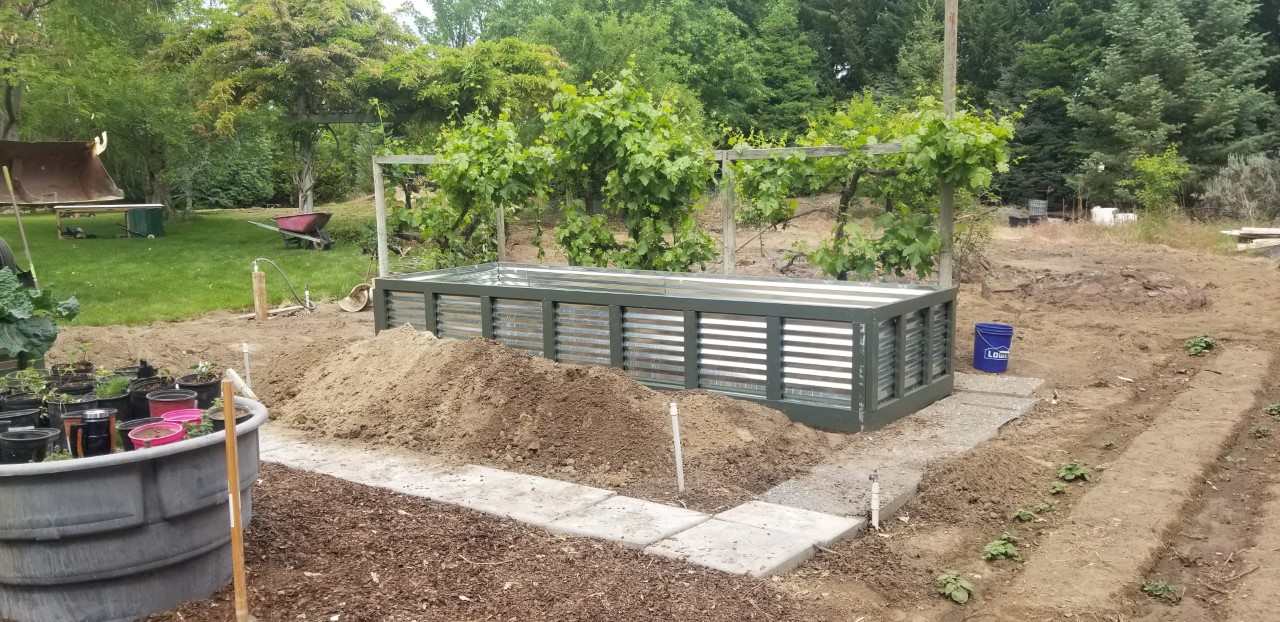 First Raised Bed in Place  5.16.2020.jpg