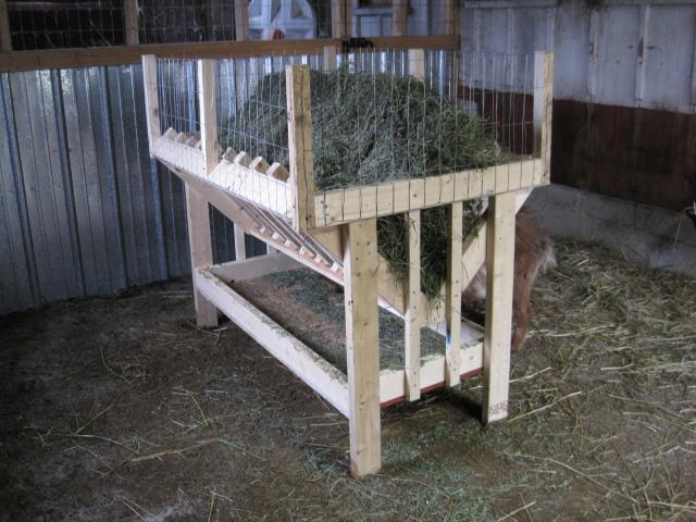 Hay Net Or Hay Rack Or Something Else Backyardherds Com