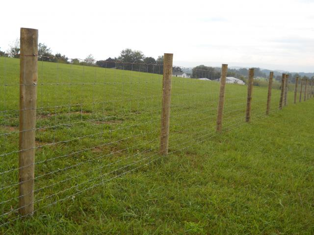 Constructing A Woven Wire Field Fence Pics Page 4
