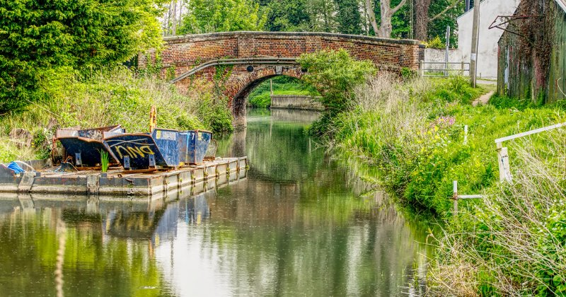 POW: Serene North Walsham Canal from Ray Westfield