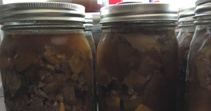 Canning Dog Food From Offal