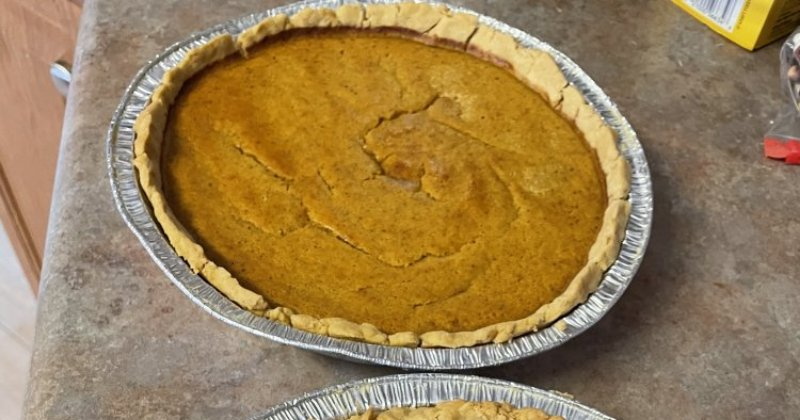 POW: Delicious Pumpkin Pie from Baymule
