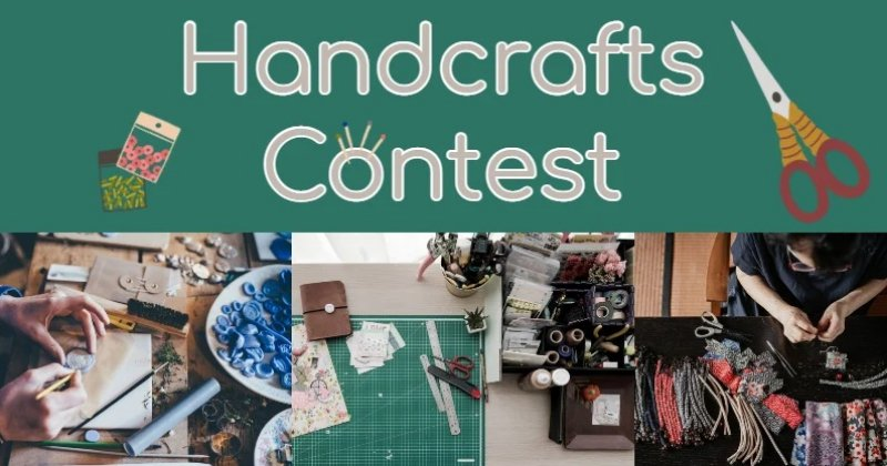 Official BYC 2021 Summer Fair: Handcrafts Contest