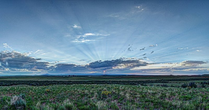 POW: Beautiful Summer Sunset in Wyoming from Turbguy